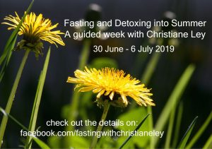 Fasting with Christiane Ley